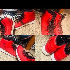 Red & Black Jordans